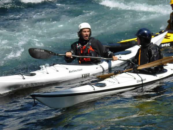 kayak Reflection mer