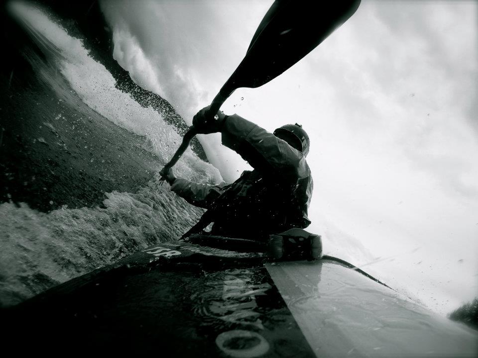 kayak Reflection en mer